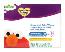 Parent's Choice Unscented Baby Wipes Sensitive Skin 400 Wipes
