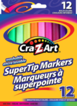 12 PC Supertip Markers