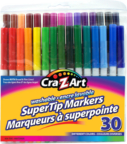 30 PC Supertip Washable Marker
