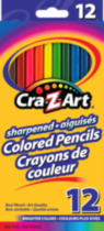Cra-Z-Art 12 Colored Pencils