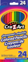 24 Colored Pencils