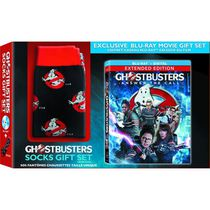 Ghostbusters (Blu-ray + Digital HD + Ghostbusters Socks) (Walmart Exclusive) (Bonus Keychain With Preorder While Supplies Last)