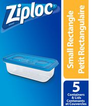 Ziploc brand Contenants Rectangle Petit