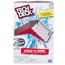 Ens. de jeu tremplin/rail à 6 marches Build-A-Park de Tech Deck