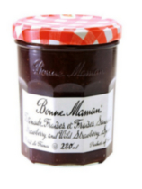 Bonne Maman - Strawberry and Wild Strawberry Jam
