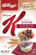 Kellogg's Special K* Low Fat Granola cereal, 553g