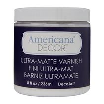 DecoArt Americana Decor Varnish 8 fl oz / 236 ml Ultra Matte