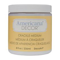 DecoArt Americana Decor Crackle Medium 8 fl oz / 236 ml - Clear