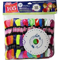 Friends Forever Embroidery Floss Jumbo Solids Pack