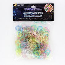 Loom Elastics - Glow In the Dark