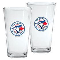 Toronto Blue Jays 16oz Mixing Glass Set