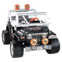 Fisher-Price® Power Wheels® Tough Talkin Jeep