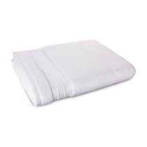 hometrends Solid Bath Sheet White
