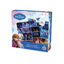 Editions Gladius International Disney: Frozen Edition Hide & Seek Board Game - Bilingual