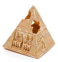 Penn-Plax Pyramid Aquarium Ornament