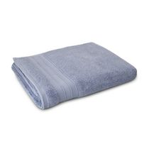 hometrends Solid Bath Sheet Blue
