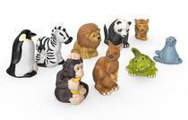 Fisher-Price Little - People Zoo -  Animal Friends 9-Pack
