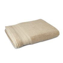 hometrends Solid Bath Sheet Tan