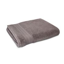 hometrends Solid Bath Sheet Grey