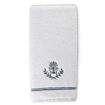 hometrends Jacquard Hand Towel Teal