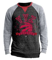 Licensed Tees Men's Raglan Sleeve Toronto Raptors Jersey L/G