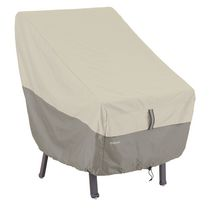 Classic Accessories Belltown High back Chair Cover, Grey