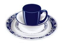 Corelle® Livingware™ True Blue 16-piece Dinnerware Set