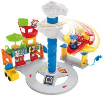 Jouet Aéroport Sonore Little People de Fisher-Price - édition anglaise