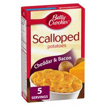 Betty Crocker Cheddar & Bacon Scalloped Potatoes