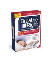 Bandelettes nasales de Breathe Right® Extra Beige 26