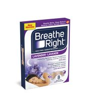 Bandelettes nasales Breathe Right® Lavande