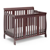Storkcraft Tuscany 4-in-1 Convertible Crib Cherry
