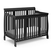 Storkcraft Tuscany 4-in-1 Convertible Crib Black