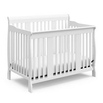 Storkcraft Tuscany 4-in-1 Convertible Crib White