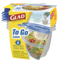 Glad® To Go Lunch Containers