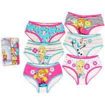 Disney Frozen Girls' 6-Pack Underwear 6