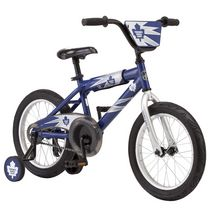 NHL Kids' Toronto Maple Leafs 16-inch Sidewalk Bike