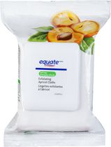 Equate Oil Free Exfoliating Apricot Cloths