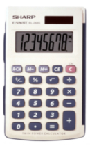 SHARP EL243SB Handheld Calculator