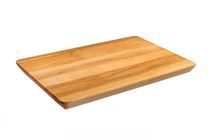 Labell Canadian Maple Wood Cutting Board - Utility Board with Angled Cut Edge