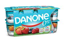 Danone 0% Strawberry/Raspberry/Peach/Blueberry Stirred Yogurt