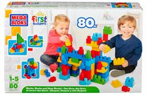 Mega Bloks First Builders Fun Endless Building Box Set 80 Pieces