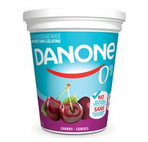 Danone 0% Cherry Yogurt