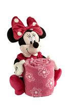 Minnie Plush with Printed Blanket