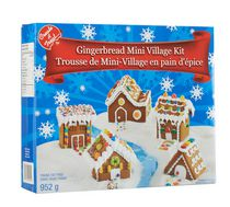 Create A Treat Gingerbread Mini Village Kit