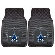 FanMats NFL Dallas Cowboys Vinyl Car Mat - Set of 2