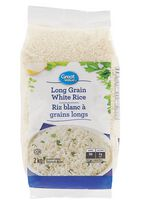 Riz blanc à grains longs Great Value