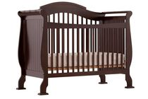 Stork Craft Valentia 4-in-1 Fixed Side Convertible Crib Espresso