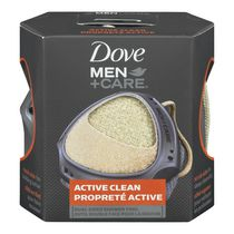 Dove Men + Care® Active Clean Dual Sided Shower Tool