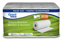 Great Value 2 PlyStrong and Absorbent Paper Towel